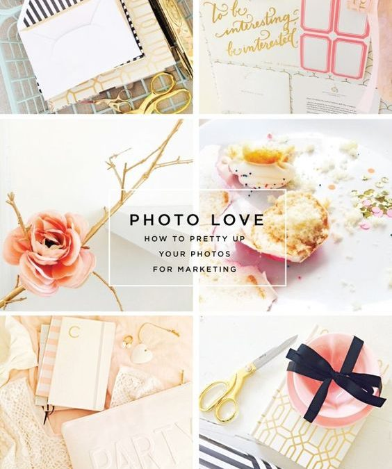 Pretty up your photos