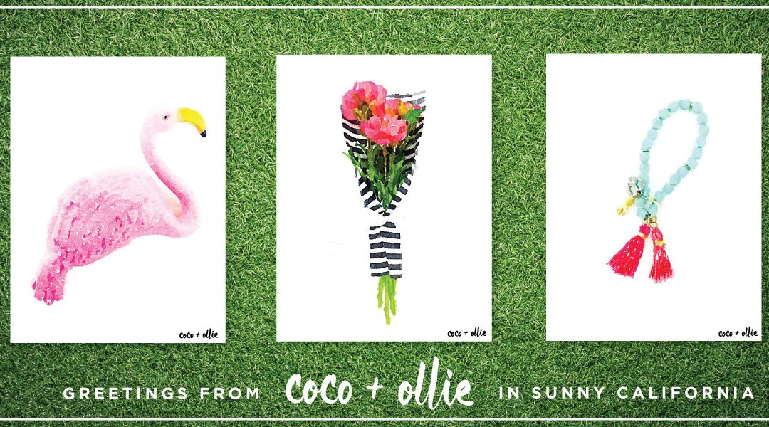 The Coco + Ollie Print Shop is Open!