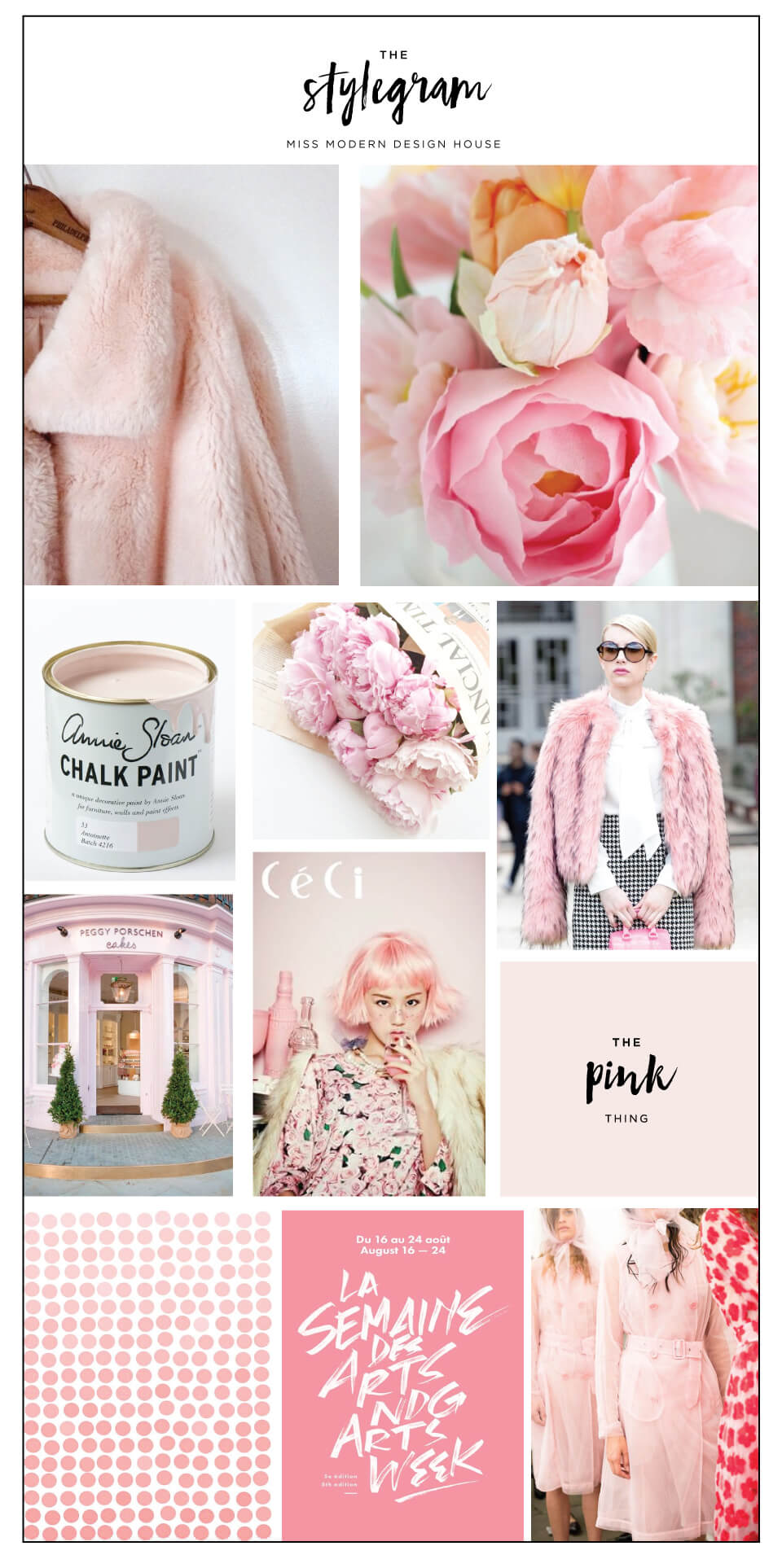 The Stylegram from Deluxemodern. This issue includes Color Theory, a Rosé Slushy, and a Pink Color Palette that will change the way you think of pink